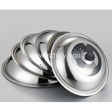 Thickened Stainless Steel Non Magnetic Pot Cover